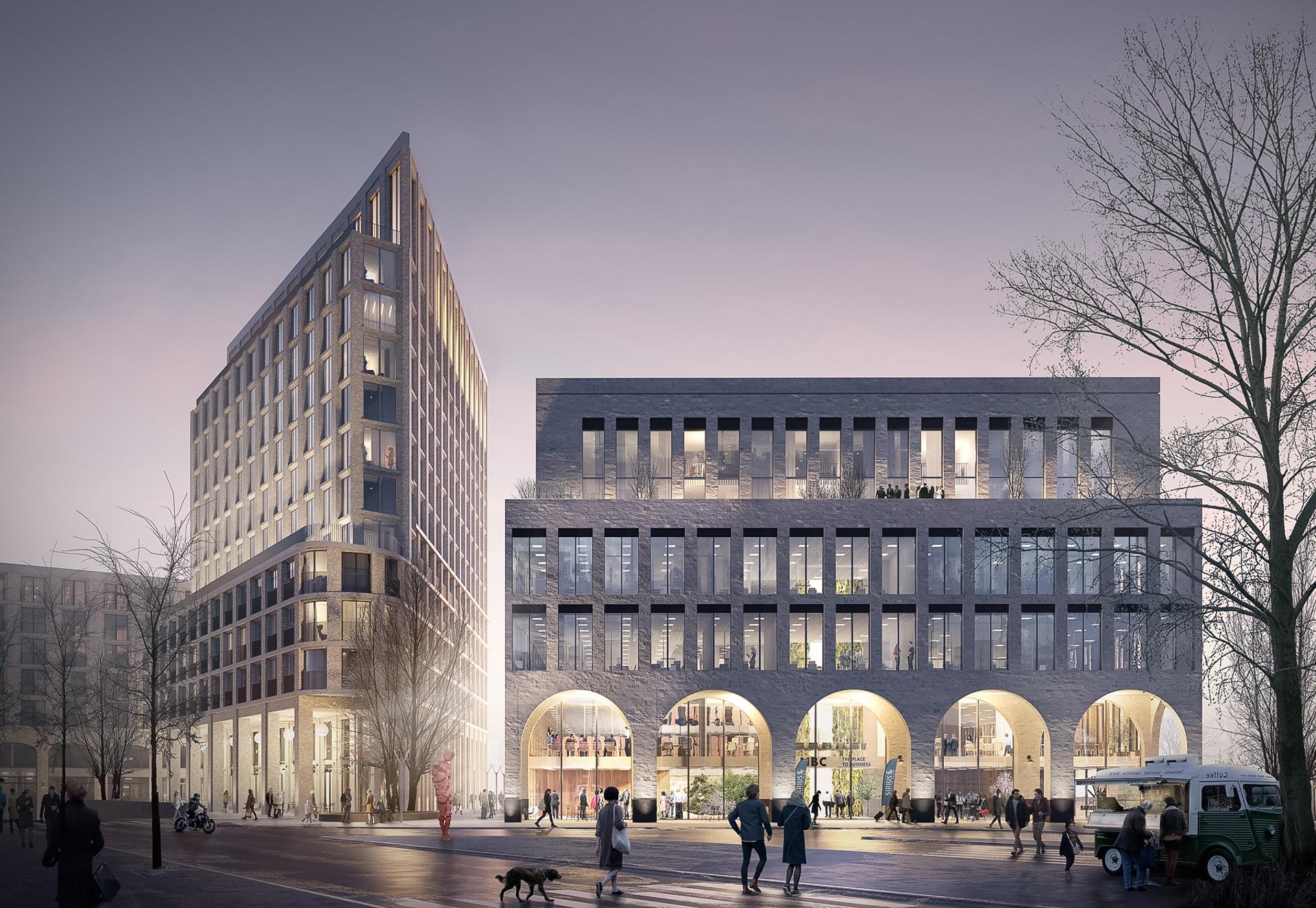 Leidsche Werf - Being Development - enders Leidscherijn OZ architecten 2018