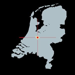 kaart--pictogram-Nederland---kleur